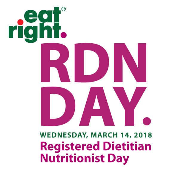 RDN Day Logo: Wednesday March 14, 2018