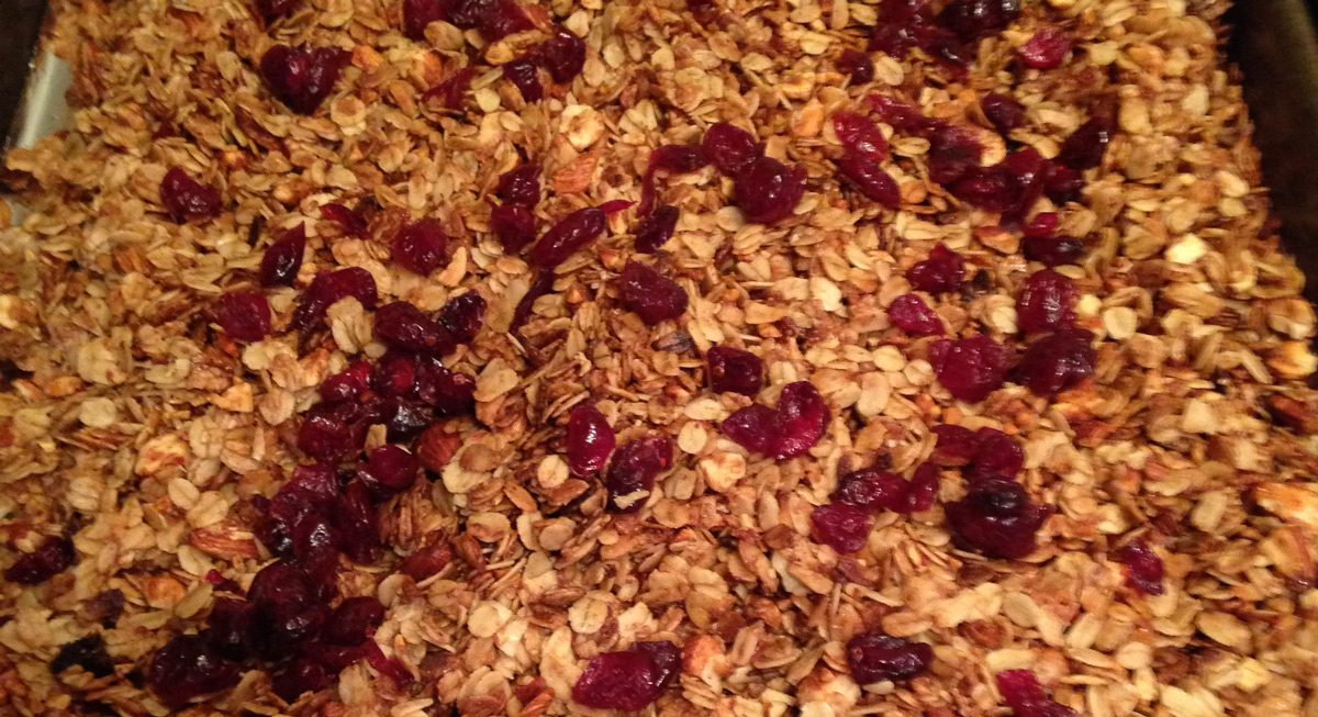 Kate's Homemade Almond Cranberry Granola