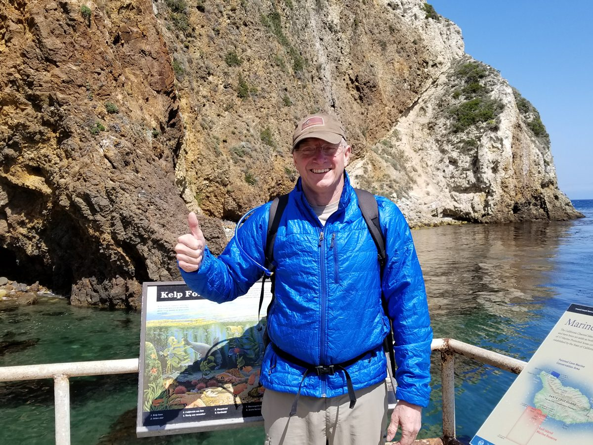 Gary visits his 46th National Park at the Channel Islands