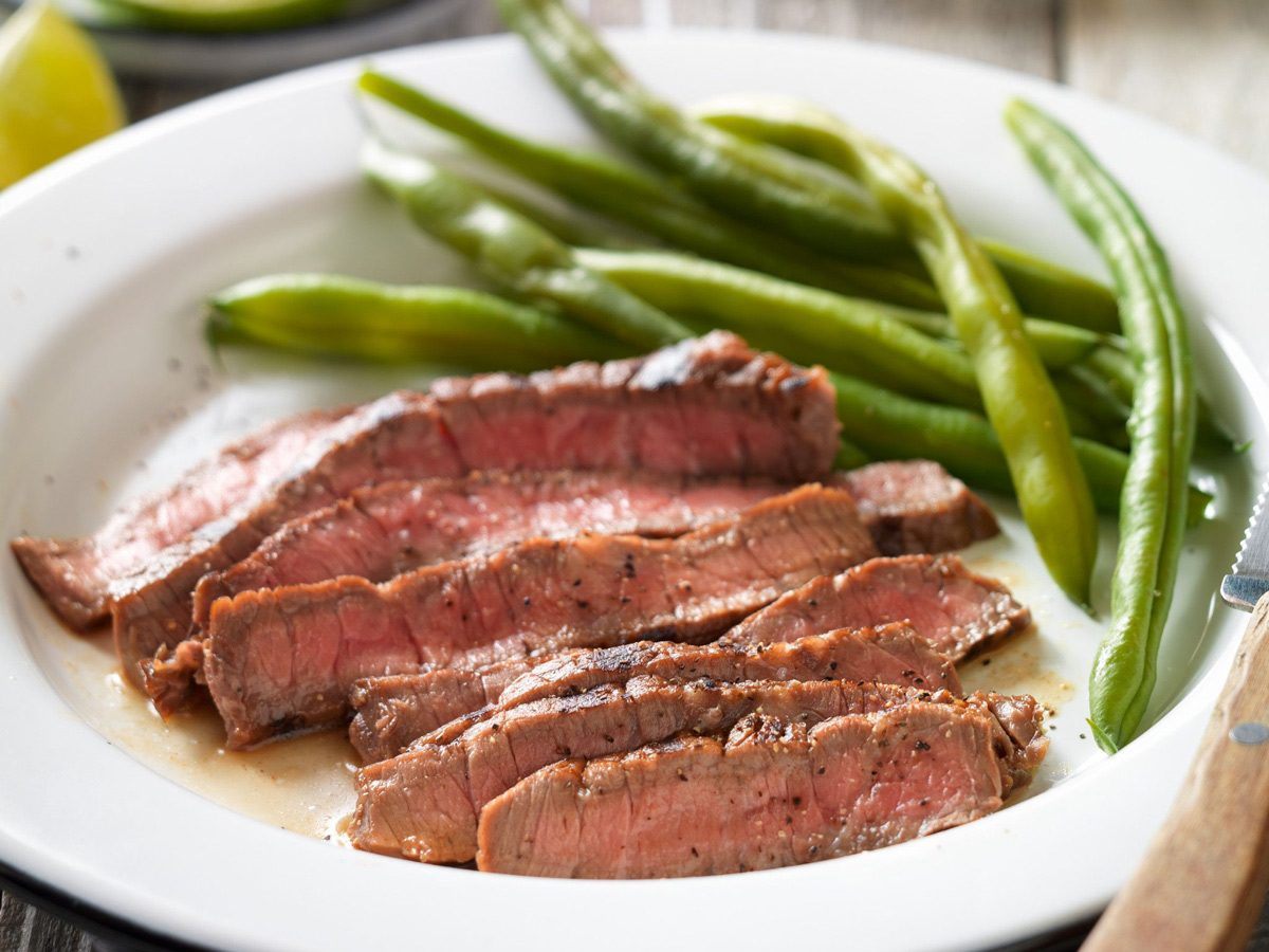 Melissa Joy's Tangy Lime Grilled Beef Top Round Steak