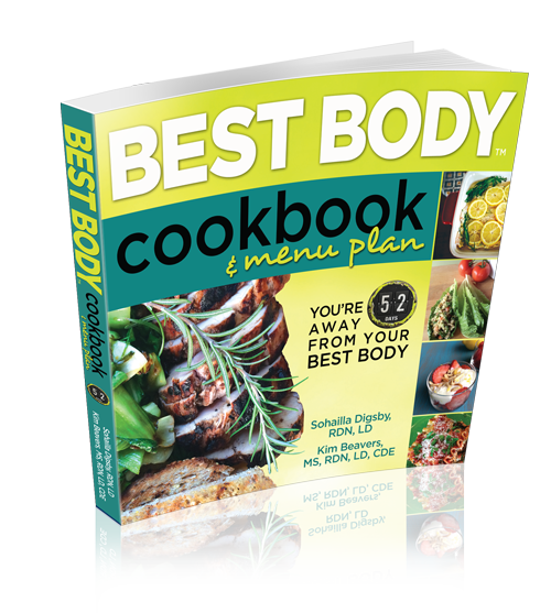 Best Buy Cookbook, by Sohailla Digsby, RDN, LD Registered Dietitian Nutritionist