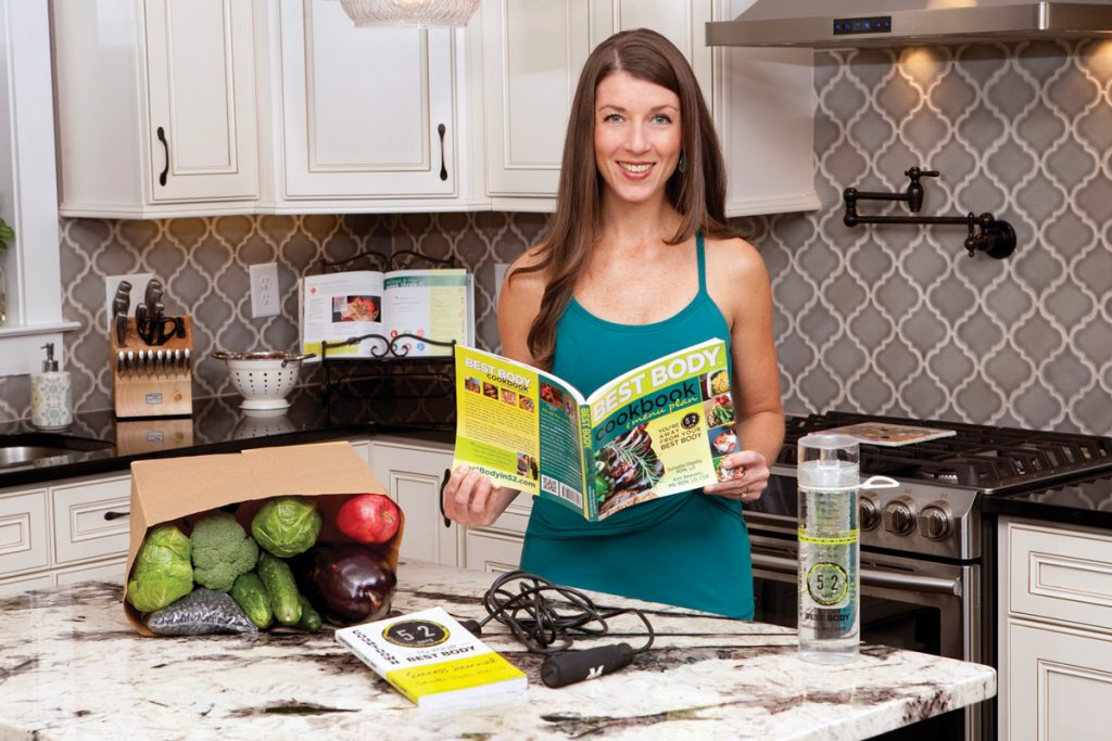 Sohailla Digsby, RDN, LD Registered Dietitian Nutritionist in the kitchen