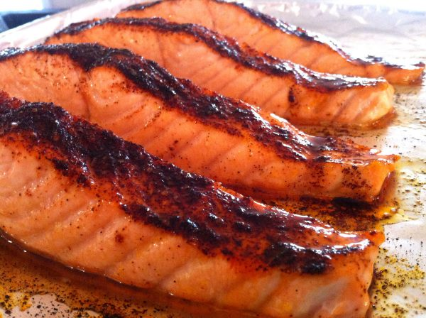 Sohailla Digsby's Spice Rubbed Salmon on the Grill
