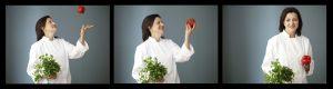 Barbara Spalding Juggling Veggies with Joy