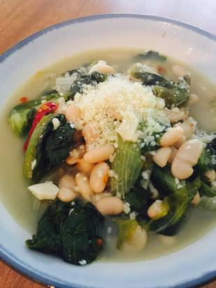 Escarole with Beans