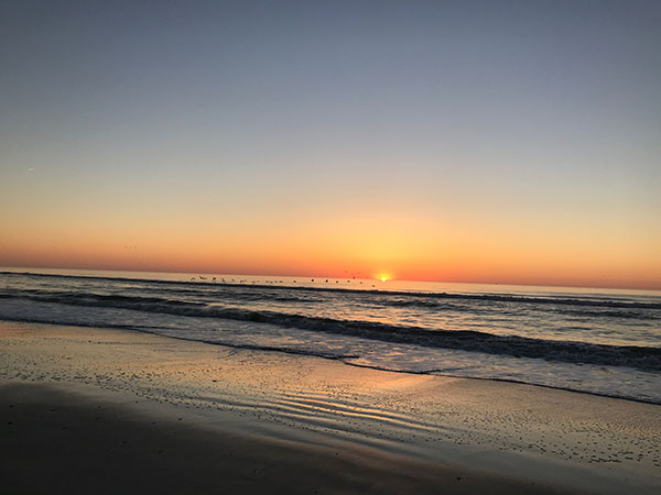 Sunrise on Fernandina Beach