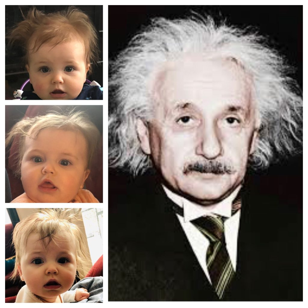 Albert Einstein and Bayla