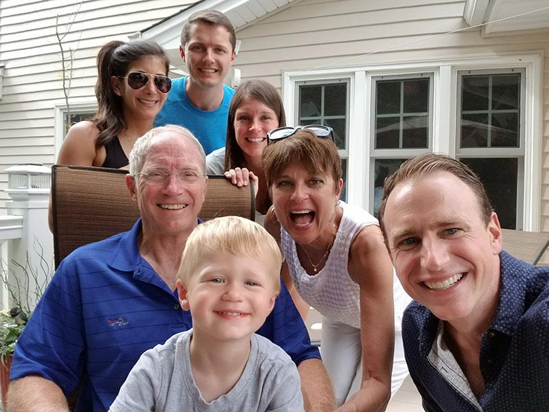 Chere Bork is grateful for her abundant family