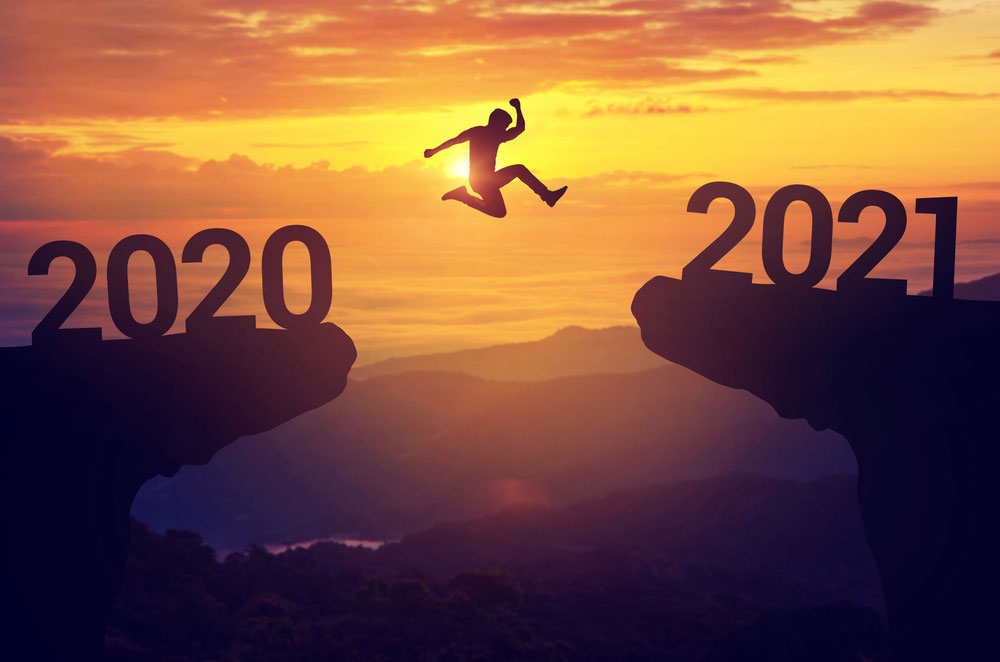 Look For Evidence of Abundance. Leap into 2021