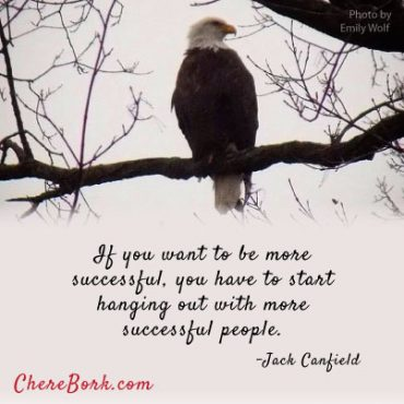 If you want to be more successful, you have to start hanging out with more successful people. - Jack Canfield