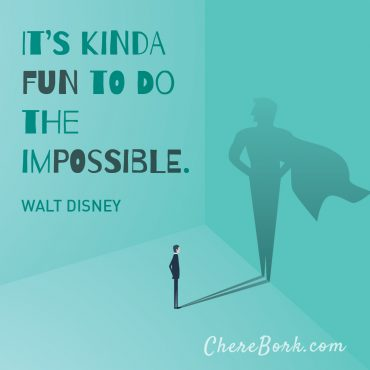 It's kinda fun to do the impossible. - Walt Disney