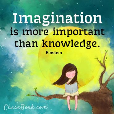 Imagination is more important than knowledge. -Einstein